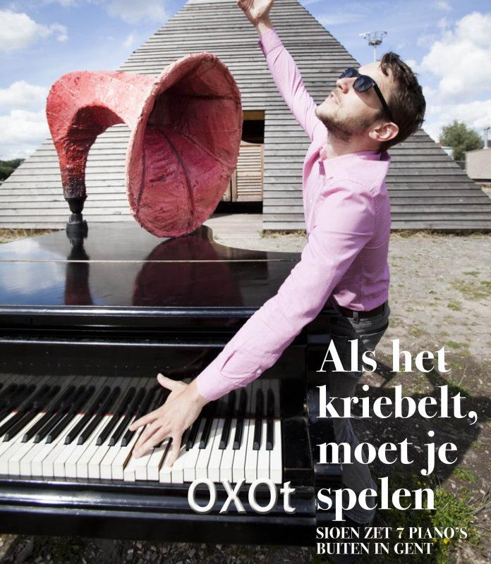 OXOt-piano ingespeeld
